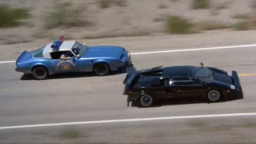'Cannonball Run' Countach wins place on Historic Vehicle Registry