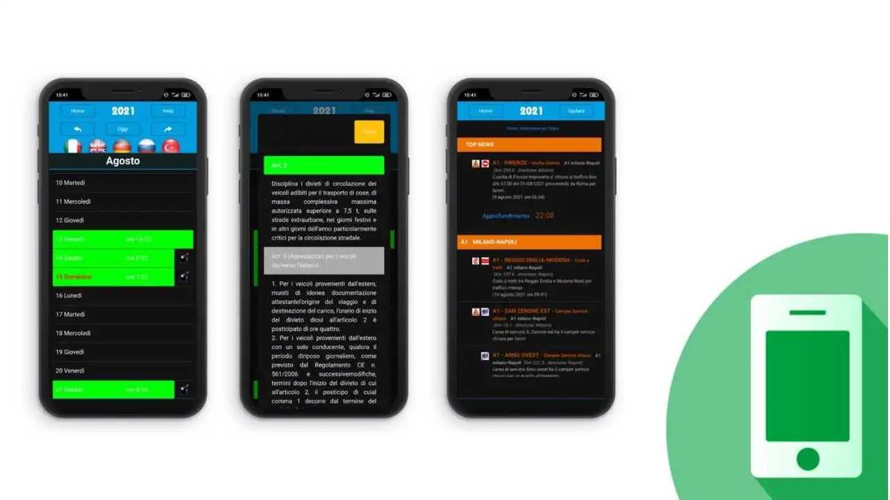 Le app per conoscere i divieti