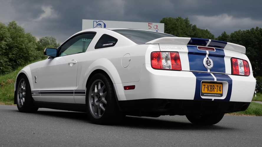 2007 Shelby GT500 arrives in Europe, Autobahn top speed run ensues
