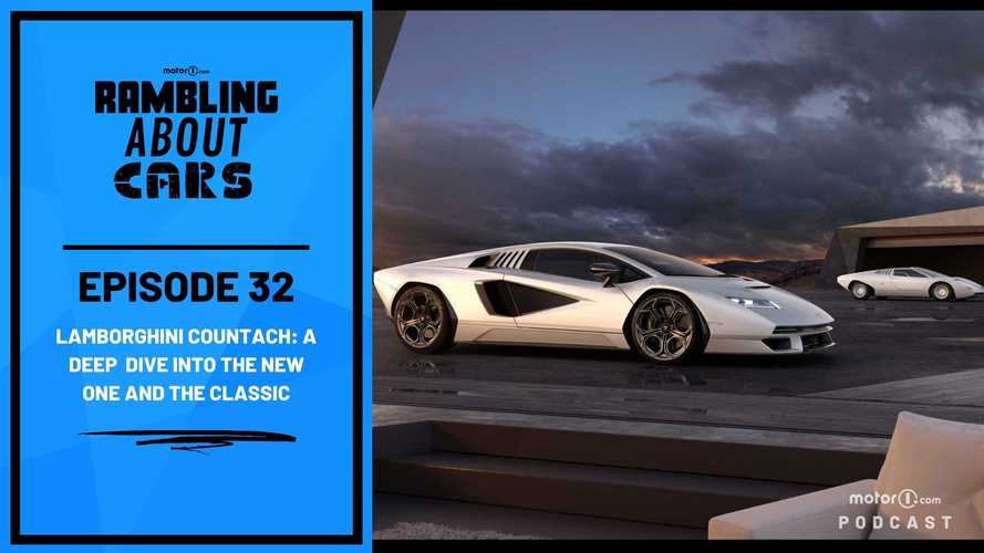 Lamborghini Countach Deep Dive Into The New One And The Classic: RAC #32