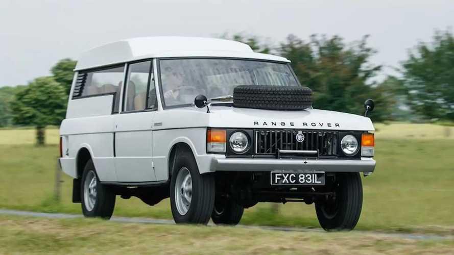 Range Rover Shooting Brake de 1972: es muy raro y se venderá caro