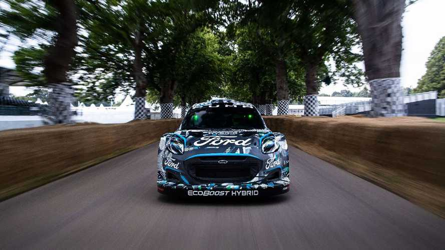 Ford Puma Rally1 WRC Prototype at Goodwood