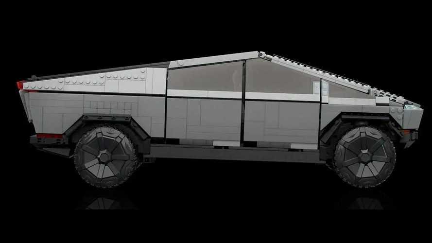 Che ne dite di costruire un Tesla Cybertruck da 3.000 mattoncini?