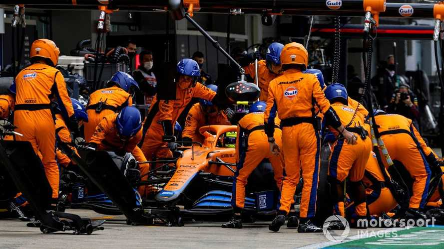 Norris 'devastated' to lose Sochi F1 win after making wrong tyre call