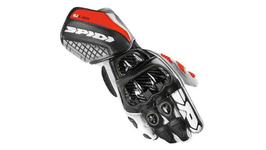 Spidi Carbo Race Gloves Receive Kangaroo Leather Treatment