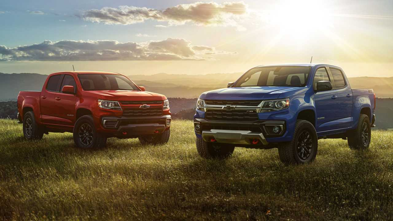 Chevy introduces Trail Boss package for 2022 Colorado pickup.