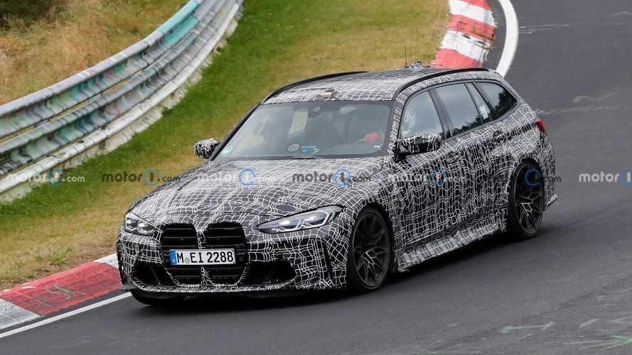 BMW M3 Touring, kamuflajlarını çıkartmamakta ısrarcı!