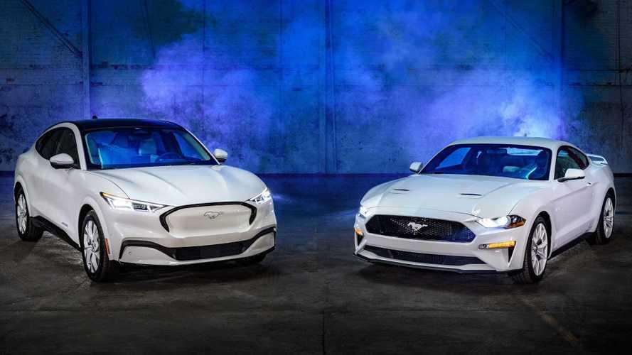 Ford Mustang Ice White Edition: para el coupé y el Mach-E
