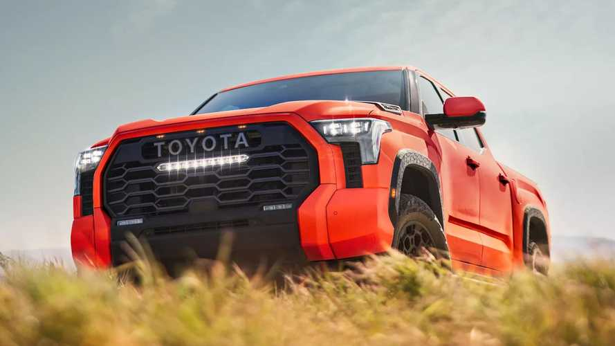 2022 Toyota Tundra Previewed For The Last Time With New Color