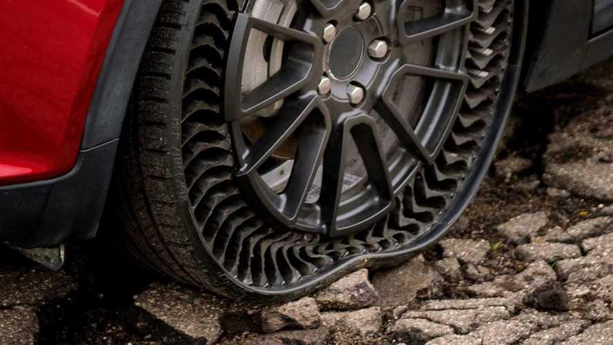 Vídeo: Conheça o pneu que não fura e não precisa ser calibrado