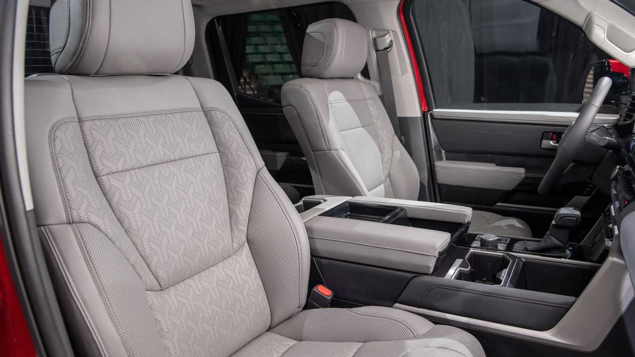 2022 Toyota Tundra Limited TRD Offroad Interior Front Seat