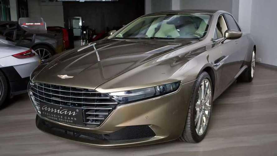 Barely Driven Aston Martin Taraf Sedan Asks $1.17 Million