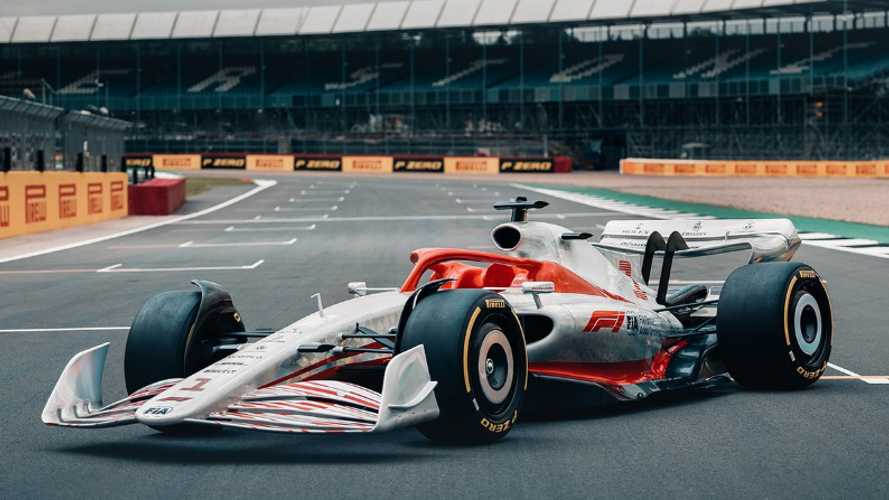 Formula 1 reveals full-size 2022 car for first time