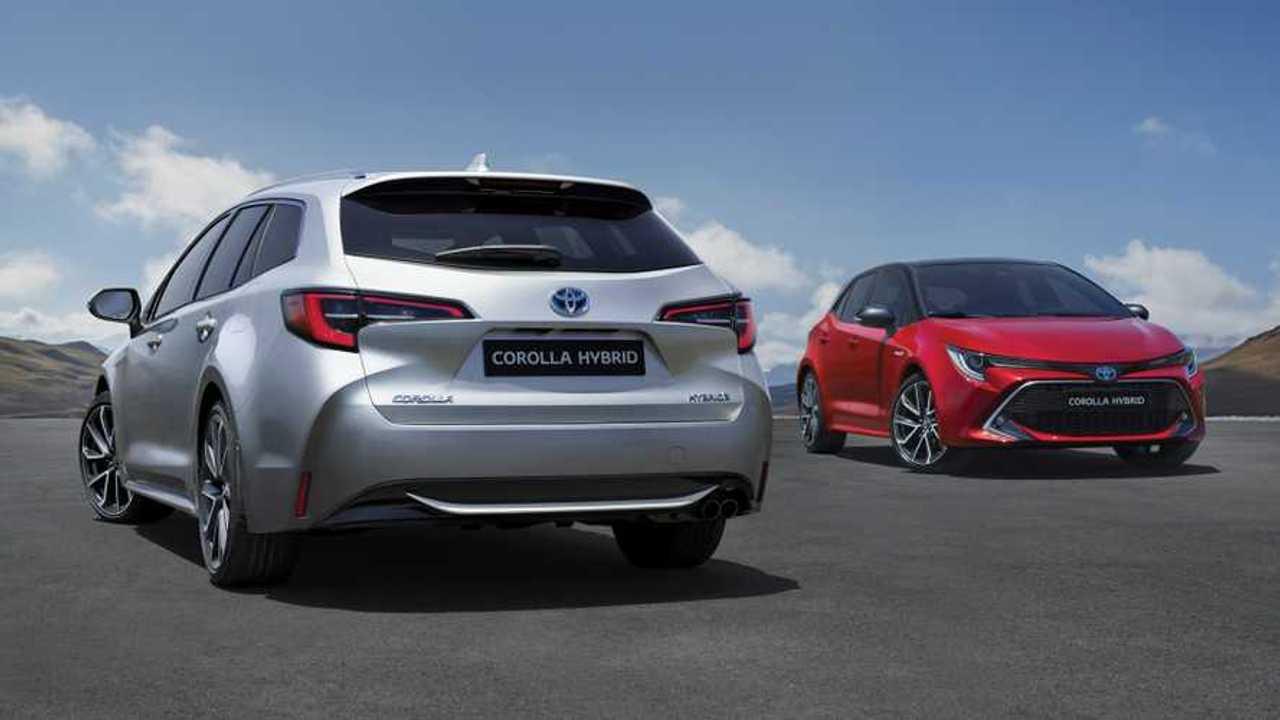 2019 Toyota Corolla hatchback and estate Euro Spec