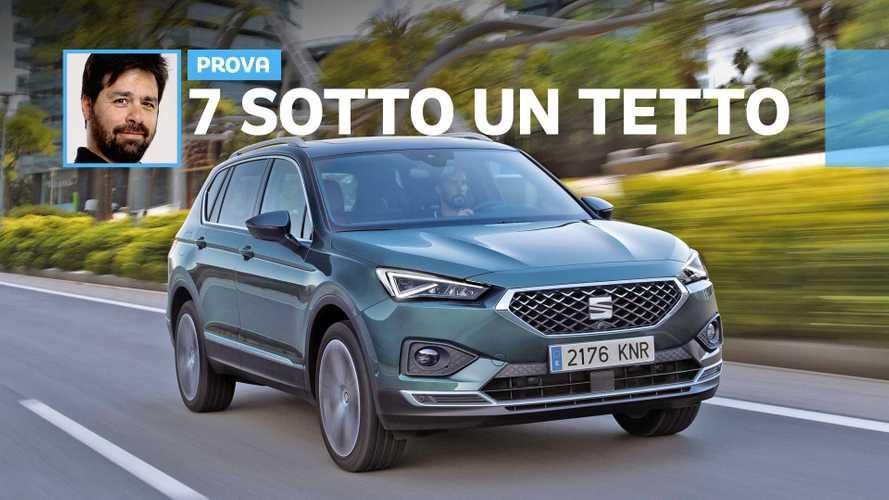 Seat Tarraco, il SUV è di famiglia
