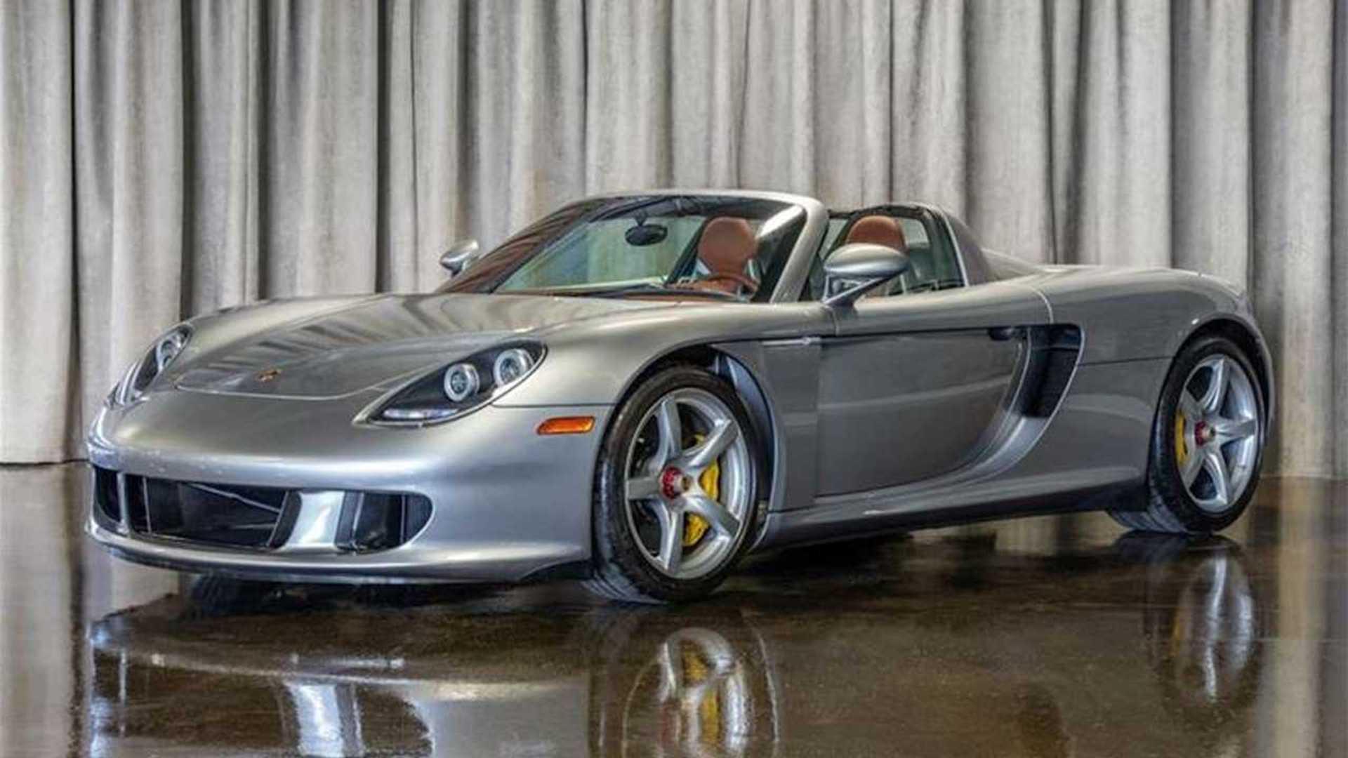 69-Mile Porsche Carrera GT For Sale Looks Factory-Fresh