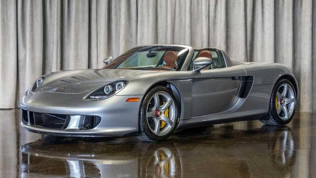 69-Mile Porsche Carrera GT For Sale