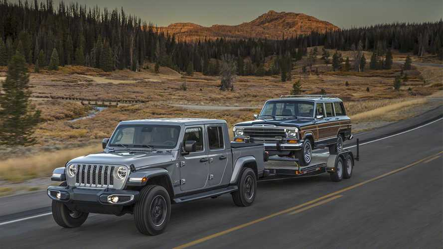 Jeep Wrangler, a Los Angeles diventa un pick-up