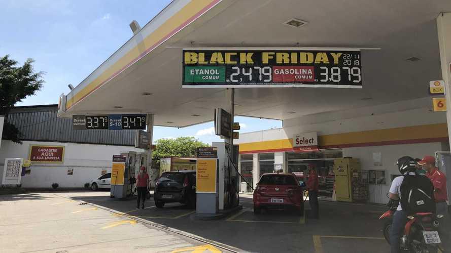Black Friday: Postos de Combustíveis vendem gasolina e etanol com desconto