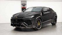 Lamborghini Urus noire par TopCar Design
