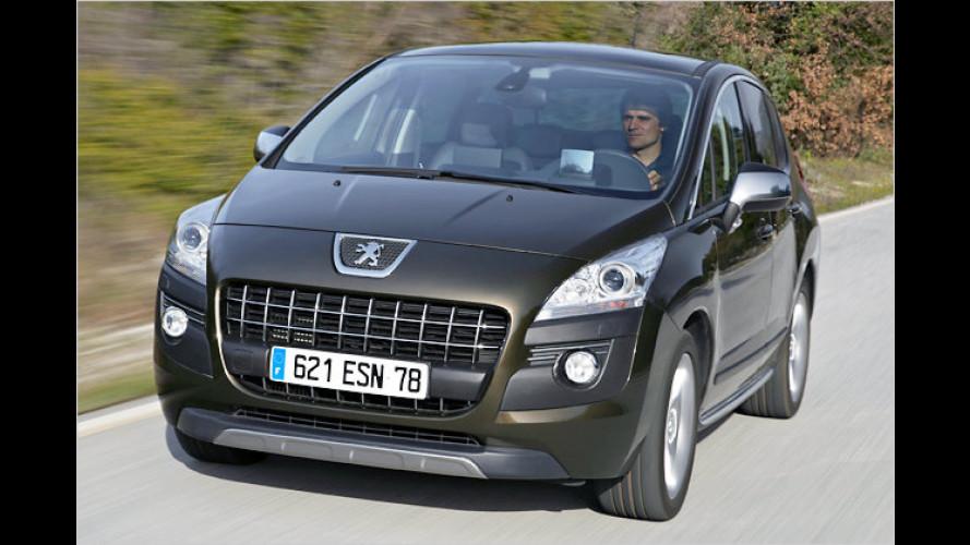 Peugeot 3008 und 5008 jetzt auch mit Start-Stopp-Automatik