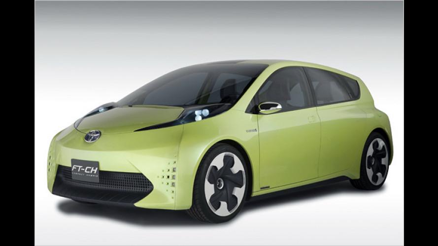 Toyota: Kompakter Hybride FT-CH debütiert in Detroit