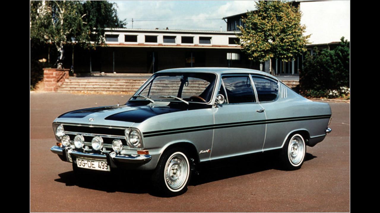 Opel Rallye-Kadett B: ,Schwarzer Sarg