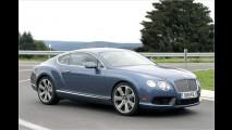 Speed-Bentley ungetarnt