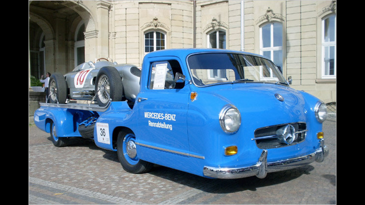 Mercedes-Benz Renntransporter