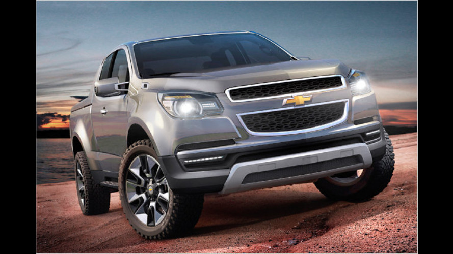 Chevrolet Colorado: Erste Bilder der neuen Generation