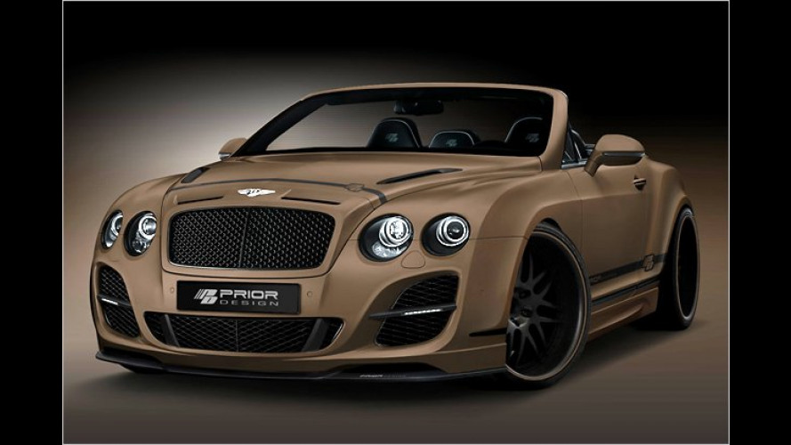 Prior-Design: Bentley in herkulischer Kraft-Montur