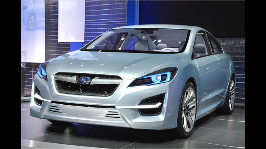 Angriffslustig: Subaru Impreza Concept