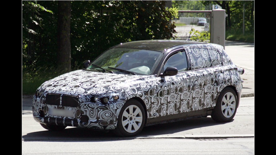 Erwischt: Hier fährt der nächste 1er-BMW