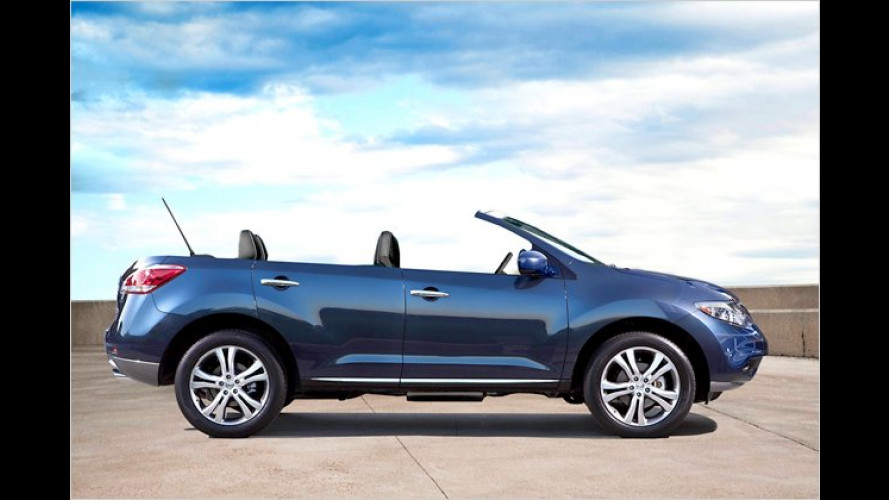 Murano CrossCabriolet: Nissan zeigt offenes SUV