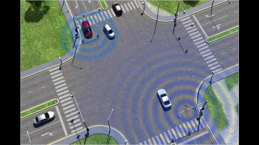 Car-2-X bei Ford: Wenn Autos mit Ampeln kommunizieren