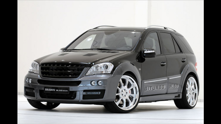 Brabus spendiert dem Mercedes ML 63 AMG 650 PS