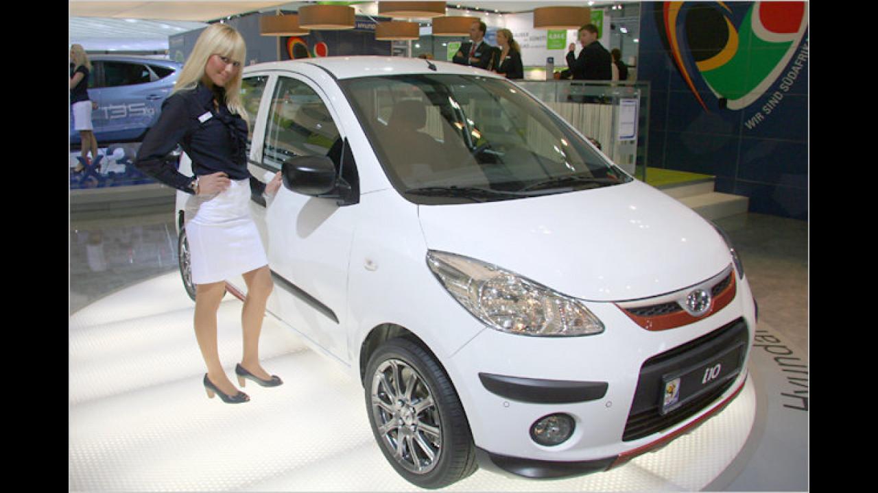 Ja, dieser Kleinwagen scheint bei der Damenwelt sehr beliebt zu sein