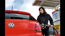 Mit Gas oder Benzin