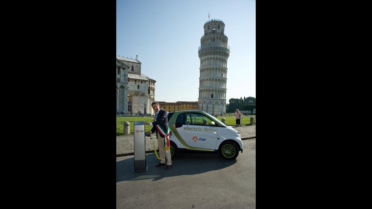 smart e-mobility Italy - Pisa