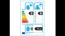 L'etichetta europea dei pneumatici