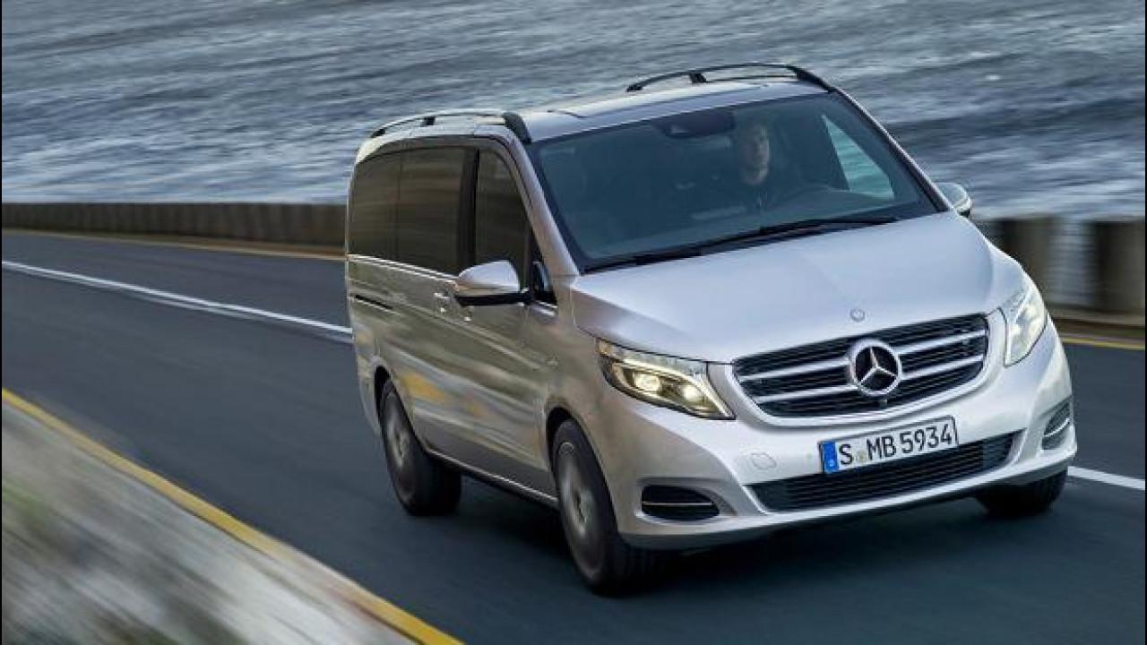[Copertina] - Mercedes Classe V, furgone addio