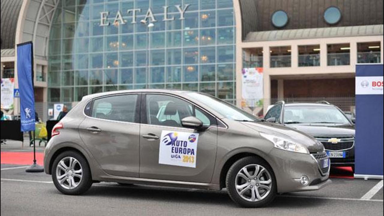[Copertina] - Peugeot 208 è UIGA Auto Europa 2013
