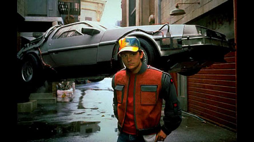 """La DeLorean di """"Ritorno al futuro"""" è in viaggio per l'Italia"""