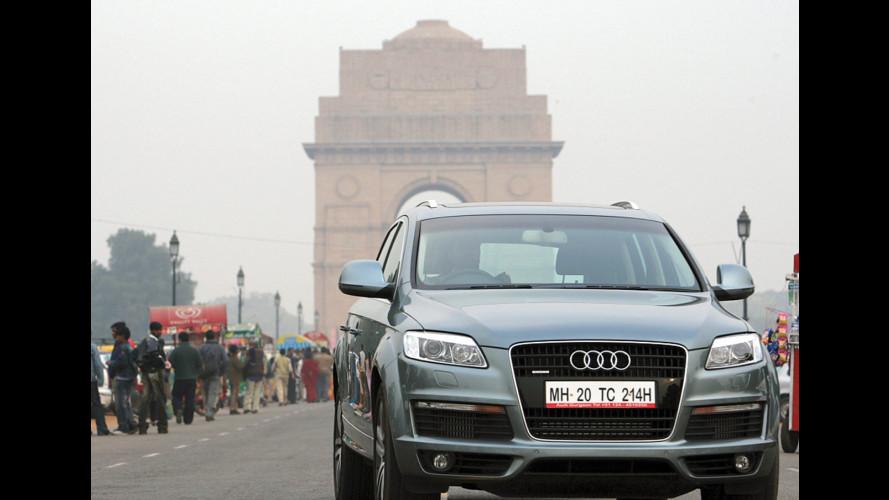 Al via la produzione di Audi A6 in India