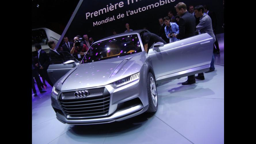 Audi crosslane coupè, la Q2 è vicina