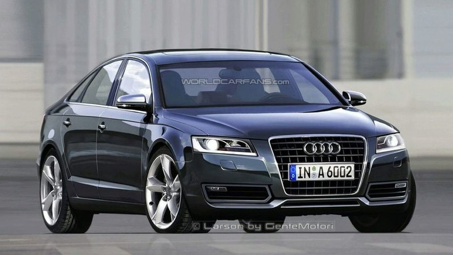 2010 Audi A6 rendering