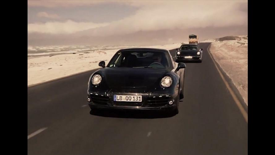 Nuova Porsche 911: il video teaser