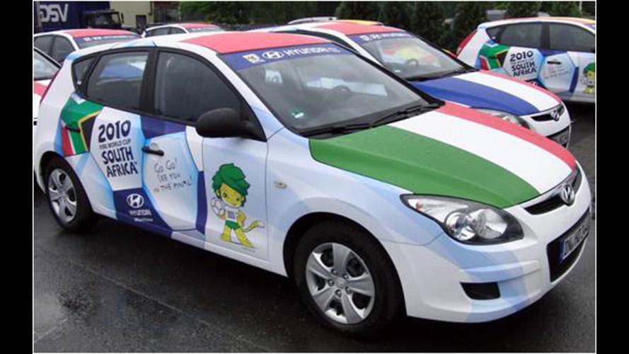 Hyundai sfila per i Mondiali di Calcio 2010
