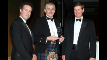 Gordon Murray riceve il premio SMMT Automotive Innovation Award 2010
