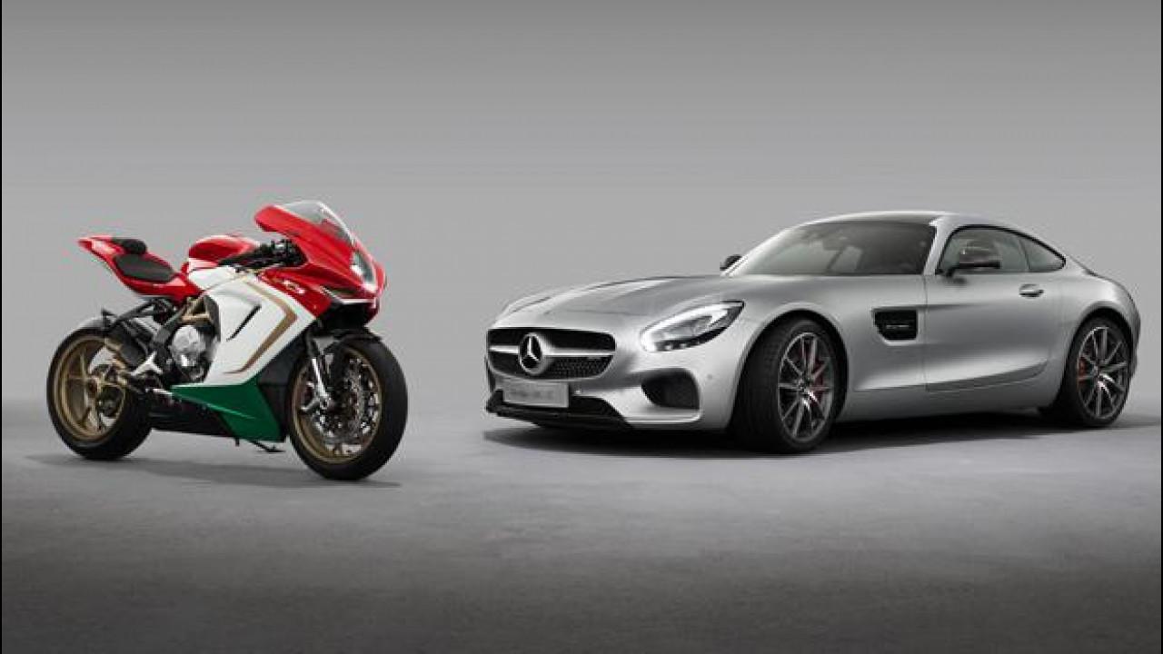 [Copertina] - Mercedes-AMG ed MV Agusta, è partnership a lungo termine